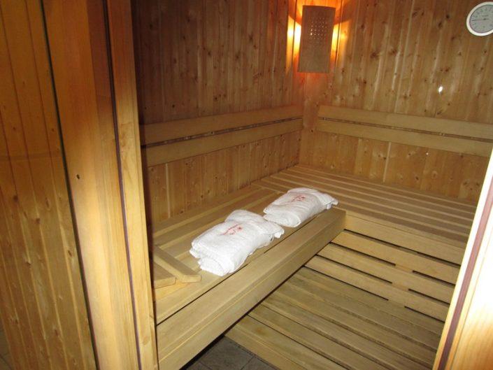 Fietshotel Alpe d'Huez Sauna