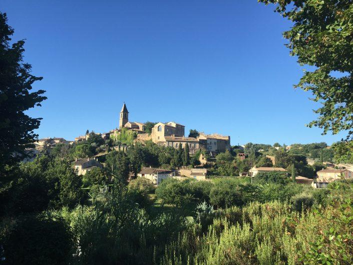 Mont Ventoux dorpje