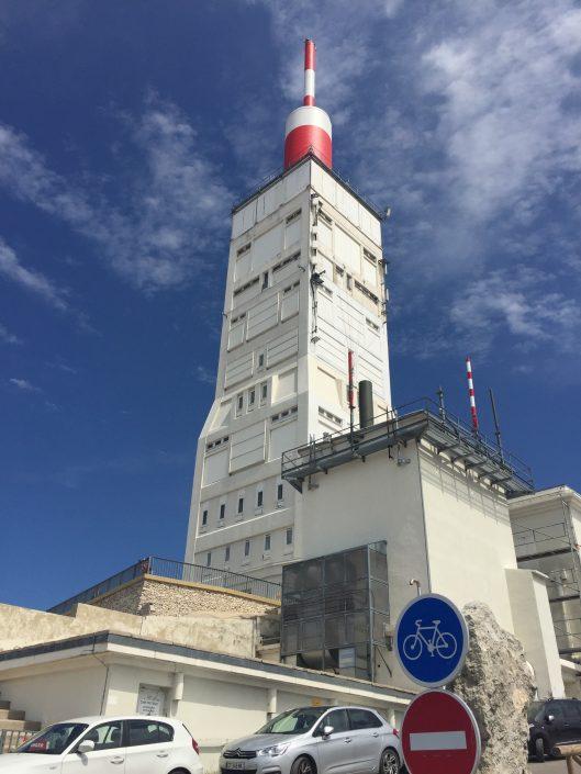 Mont Ventoux mast