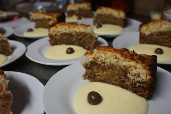 1/2 pension Chalet Beyond dessert