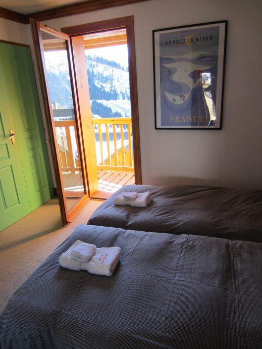 Chalet Brocard slaapkamer