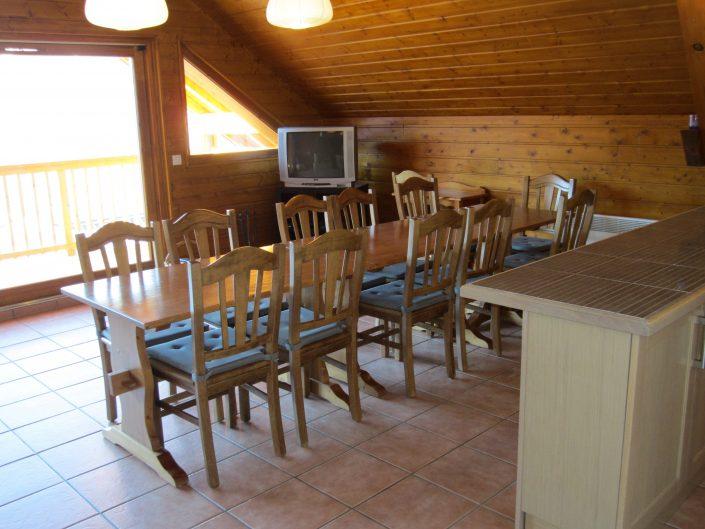 Chalet Brocard woonkamer