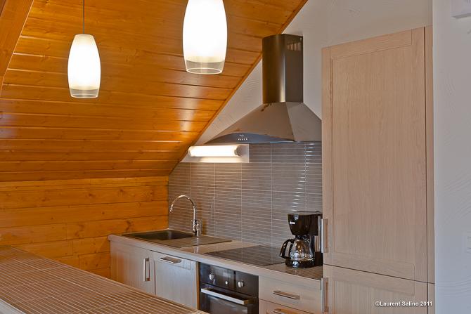 keuken chalet Brocard
