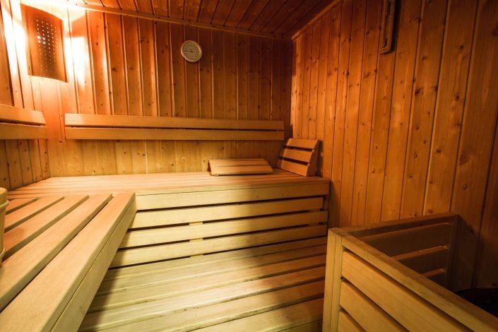 Chalet Beyond Fietshotel Alpe d'Huez Sauna