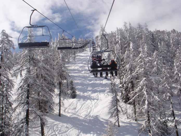 catered chalet skigebieden