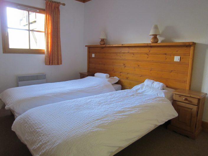 slaapkamer chalet Eterlou