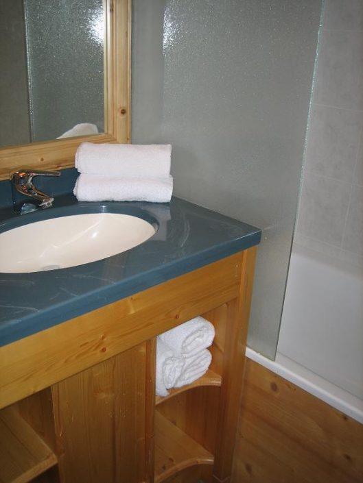 badkamer chalet Tetras